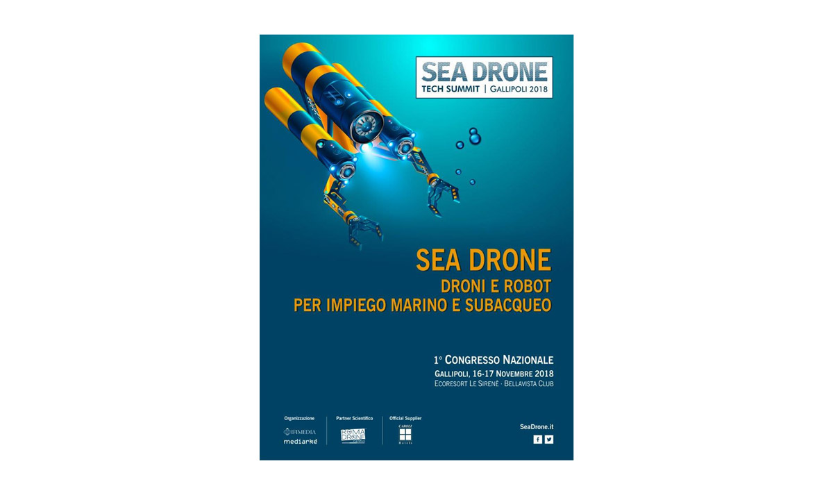Il manifesto di Sea Drone Tech Summit 2018
