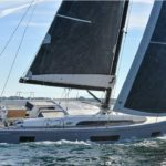 Oceanis 46.1 in navigazione