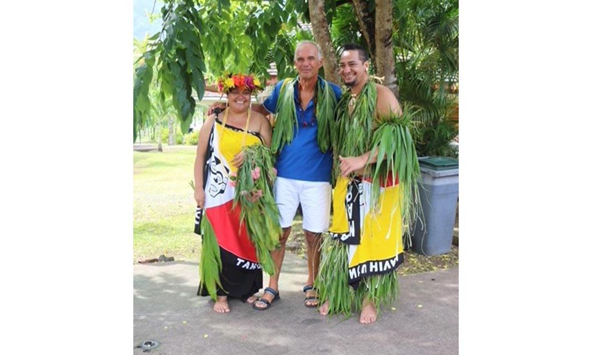 La coppia alle Hawaii
