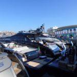 Alcuni yacht della flotta Ferretti Group