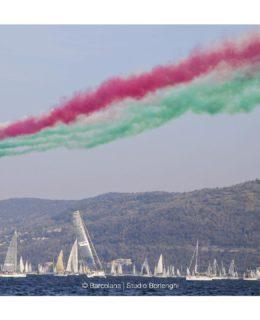 Barcolana record: Frecce Tricolori (by Borlenghi)