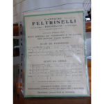 Il vecchio listino prezzi Feltrinelli
