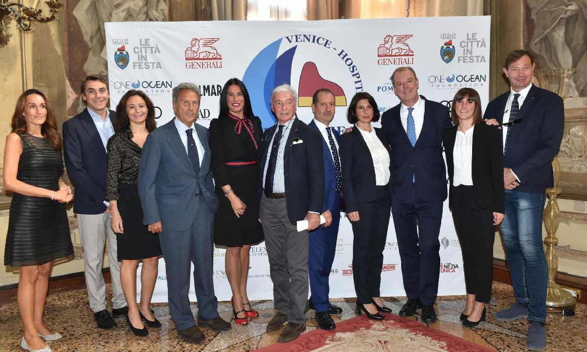 Venice Hospitality Challenge: foto di gruppo