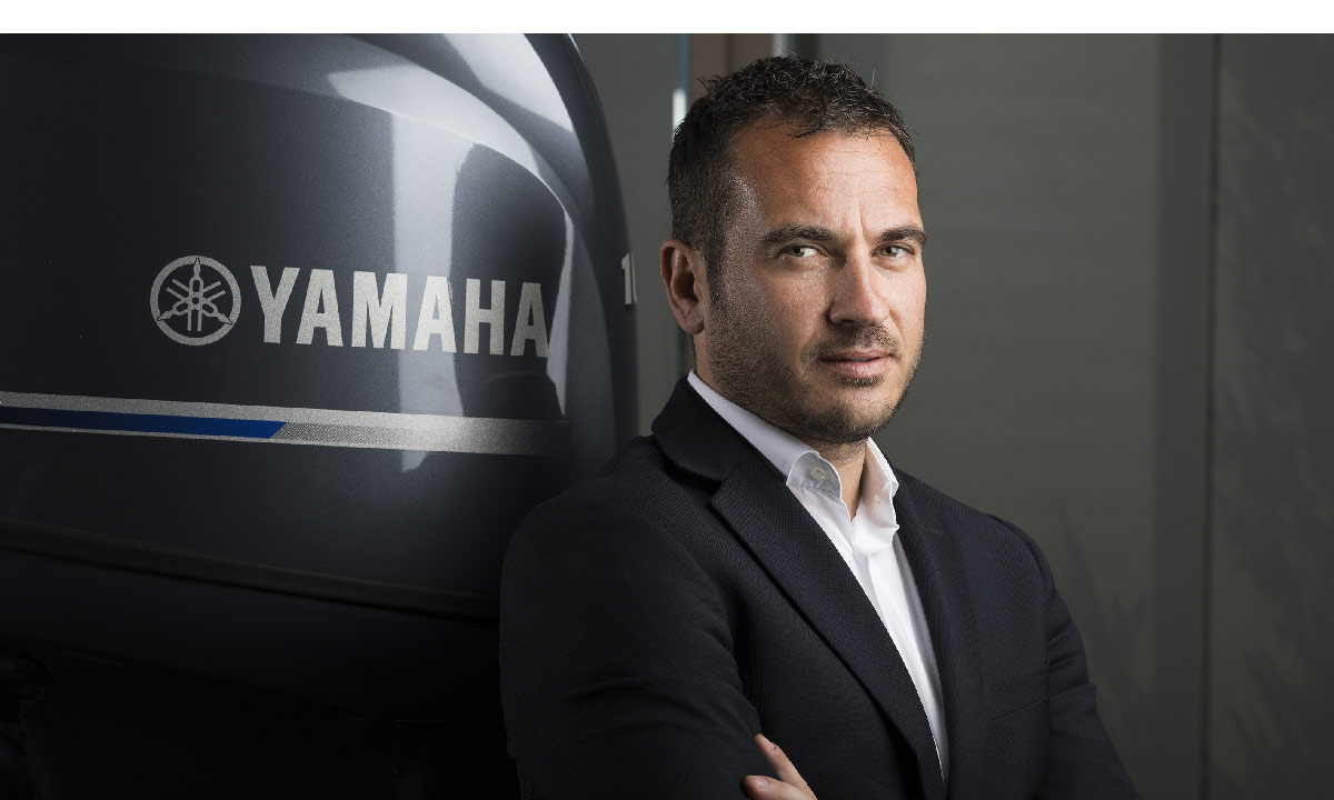 Adrenalina Yamaha. Nella foto Andrea-Colombi, country manager Italia