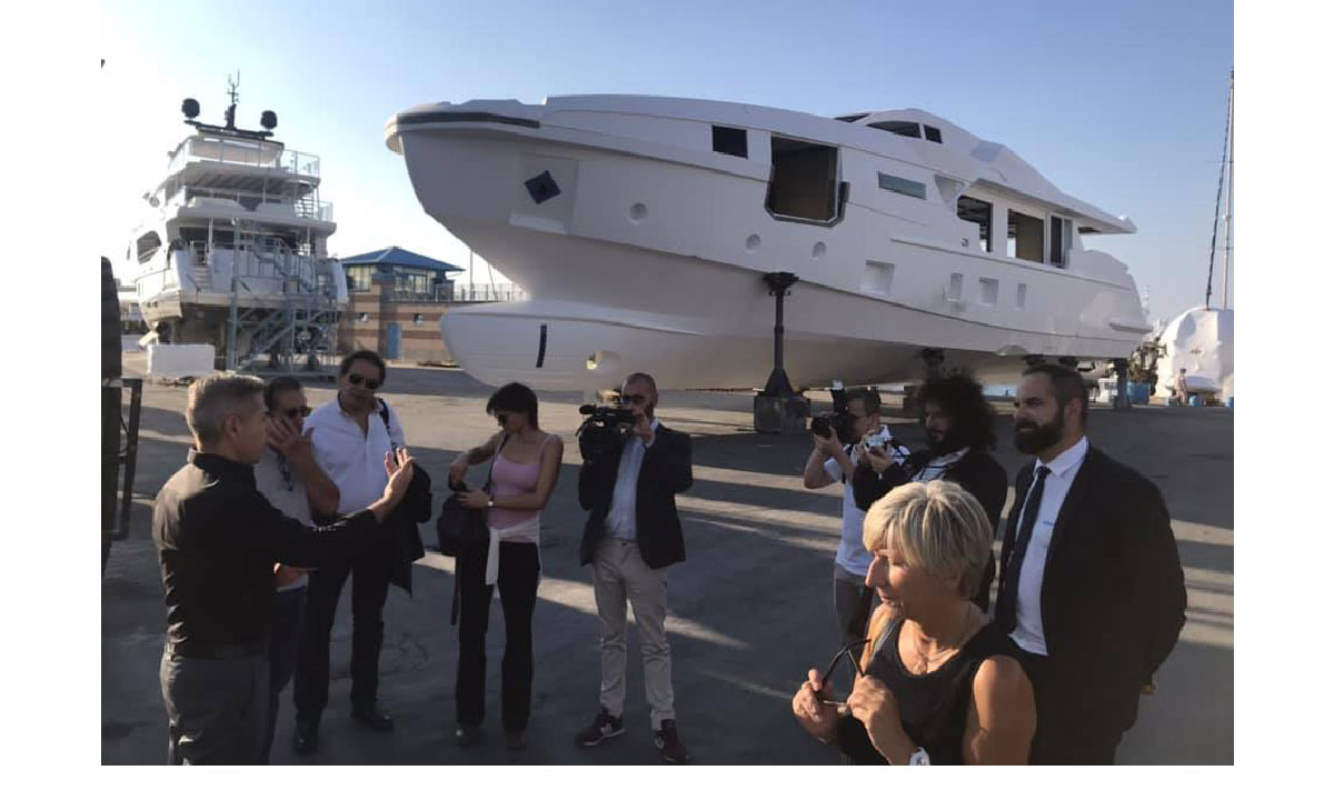 Press-tour tra i cantieri