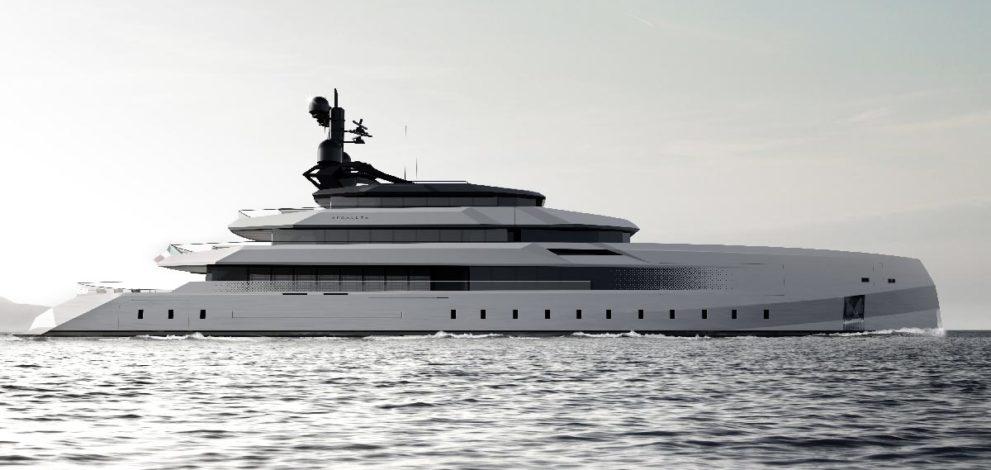 Crn Begallta, megayacht di 75 metri