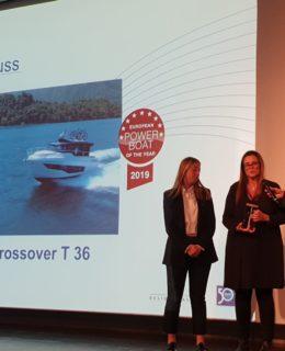 Cranchi Crossover T36: la premiazione