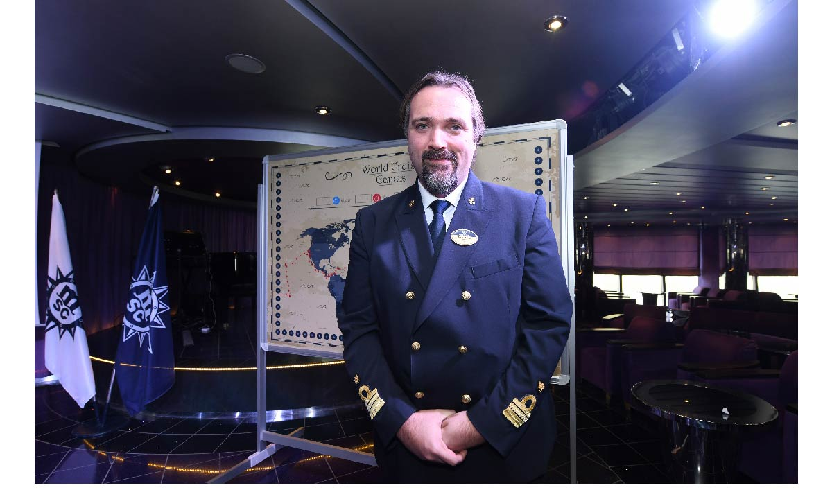 Il comandante Marco Massa
