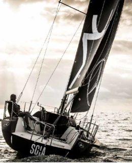 Lenard alla partenza da Cadice