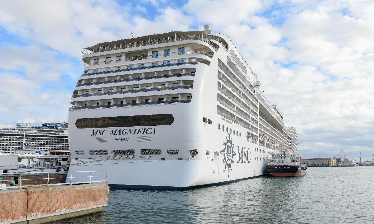 World Cruise Msc: nella foto Msc Magnifica