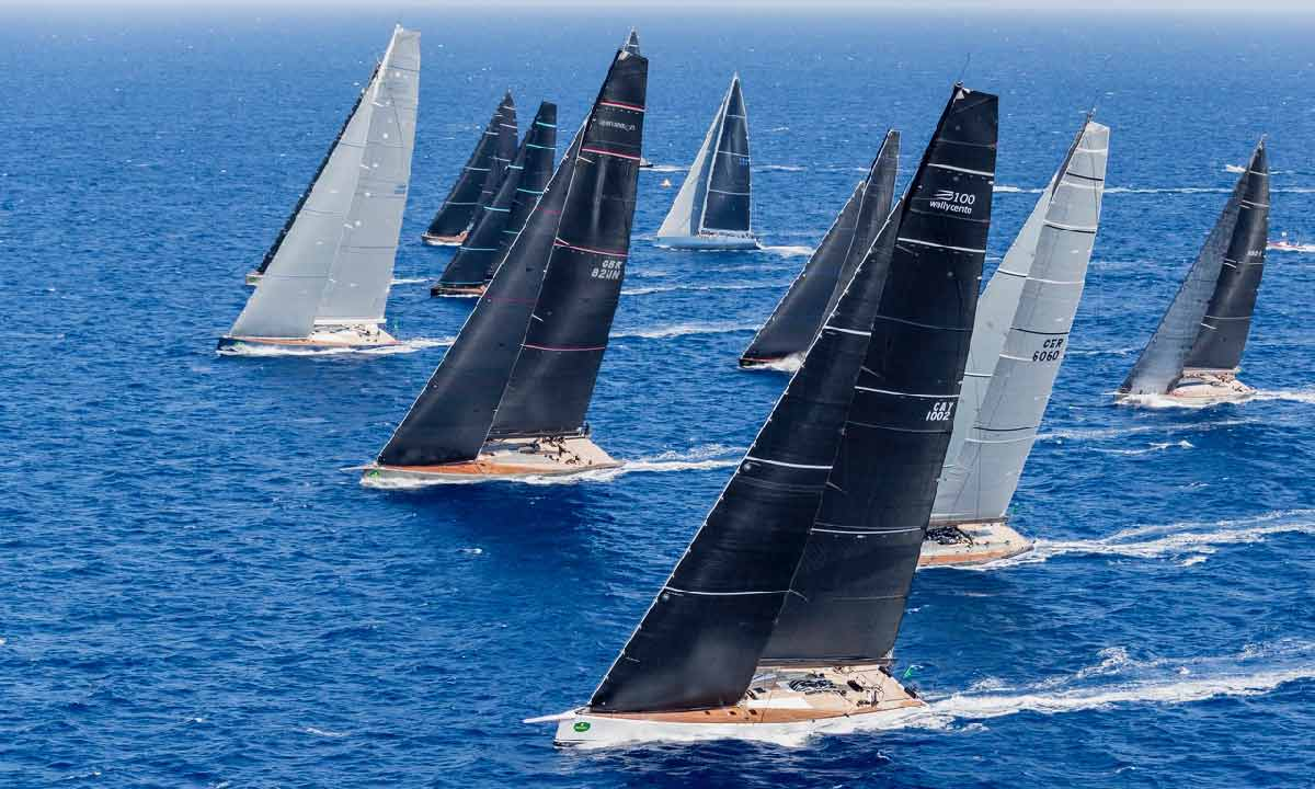 Wally Class start maxiyacht alla Rolex Cup 2017