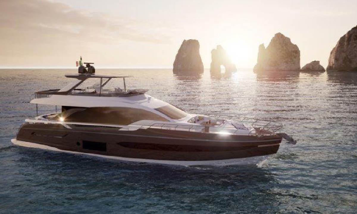 Azimut Yachts 50: il progetto 76 Fly