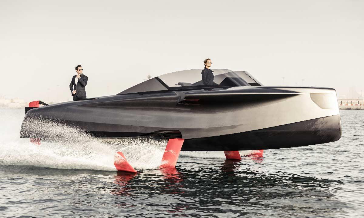 Foiler, la barca volante di Enata Marine