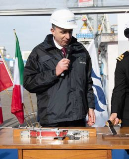 Fincantieri e Princess Cruises: Luigi Matarazzo e Kerry Ann Wright