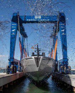 Pershing vara l'ammiraglia della flotta