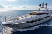 Baglietto My Silver Fox al Palm Beach Boat Show
