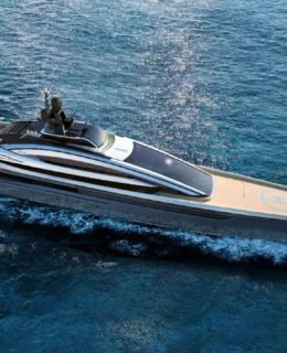 Crossbow, ammiraglia sport coupé di Isa Yachts