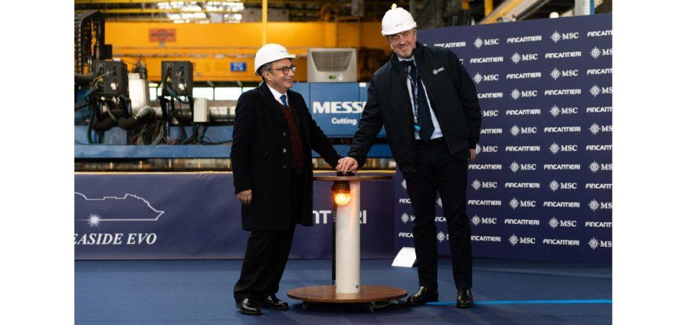 Msc e Fincantieri: Giuseppe Bono e Pierfrancesco Vago