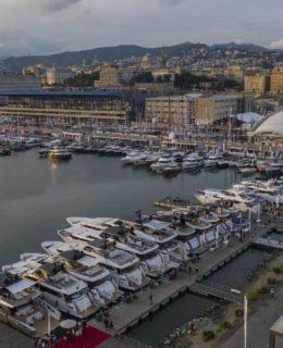 Darsena turistica di Genova
