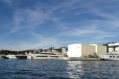 La Spezia: il cantiere Baglietto