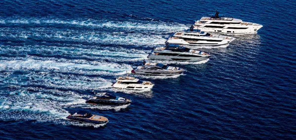 Ferretti Group: la flotta