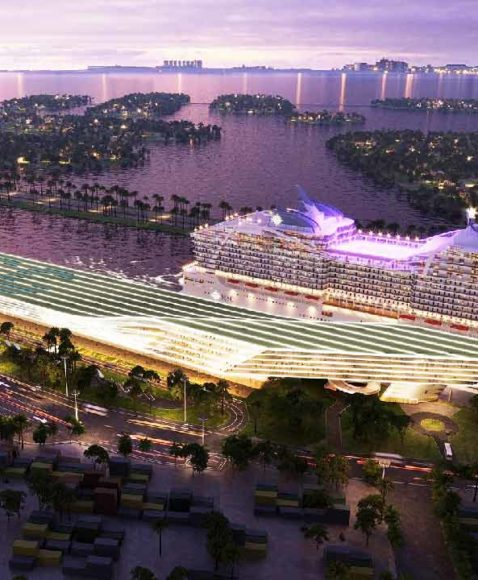 Msc Cruises: il progetto del nuovo terminal