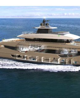 Rosetti Superyacht 52 metri supply vessel