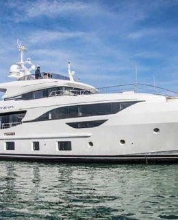 Benetti Yachts: nella foto Baya