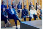 Anteprime Sanlorenzo. Da sinistra Carla Demaria, Massimo Perotti, Bernardo Zuccon, Patricia Urquiola e Laura Sessa
