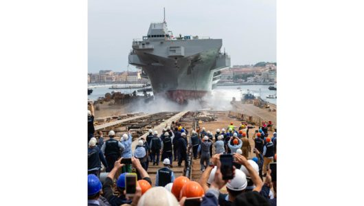 Nave Trieste: operazioni di varo