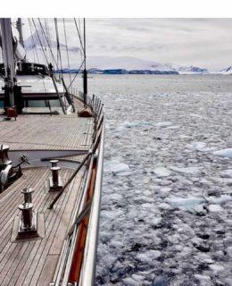 Perini Rosehearty tra i ghiacci dell'Antartide