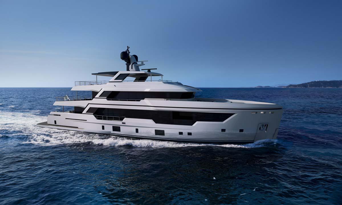 Rosetti Superyachts, explorer di 38 metri
