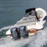 Adrenalina 10.5 motorizzato con due Yamaha F300