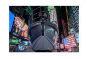 Azimut S6 a Times Square