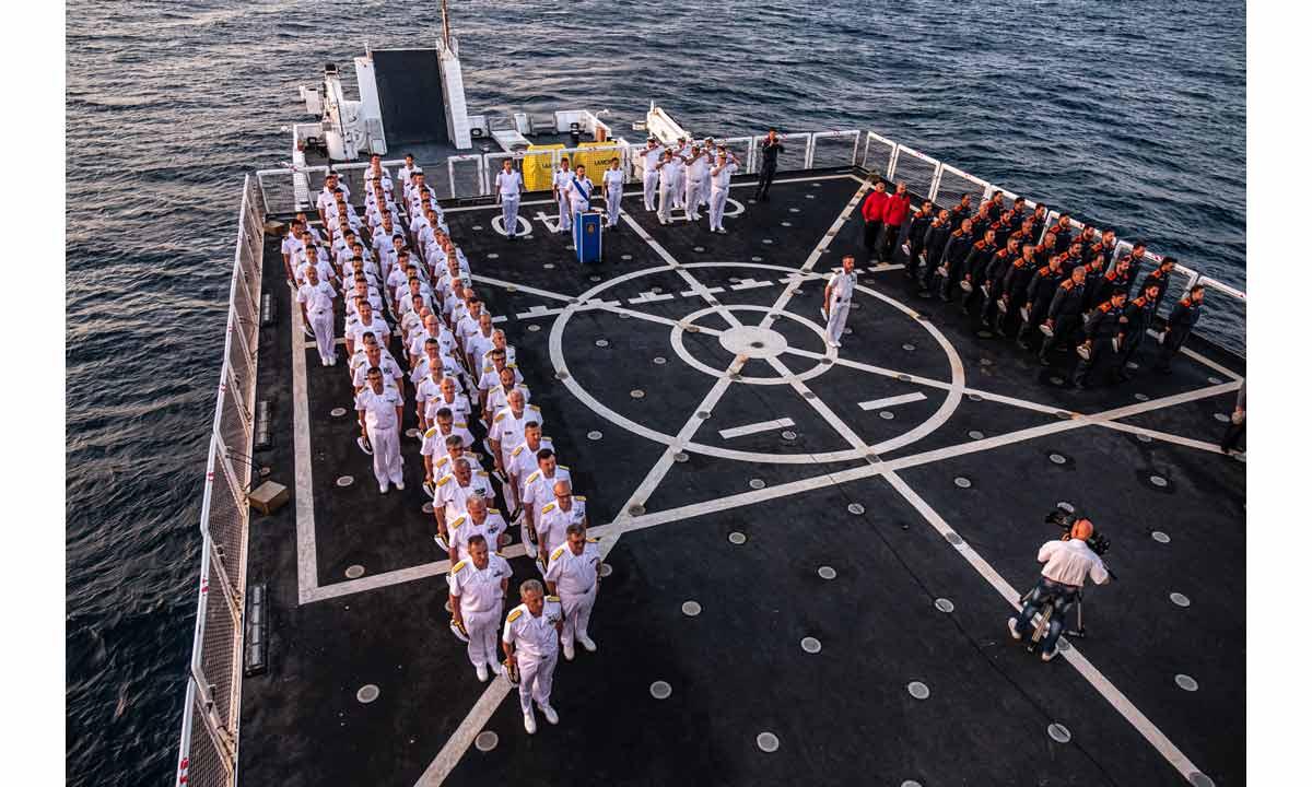 Guardia Costiera: un'immagine dell 30° anniversario