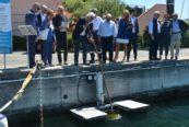 Porto Lotti: Seabin in acqua
