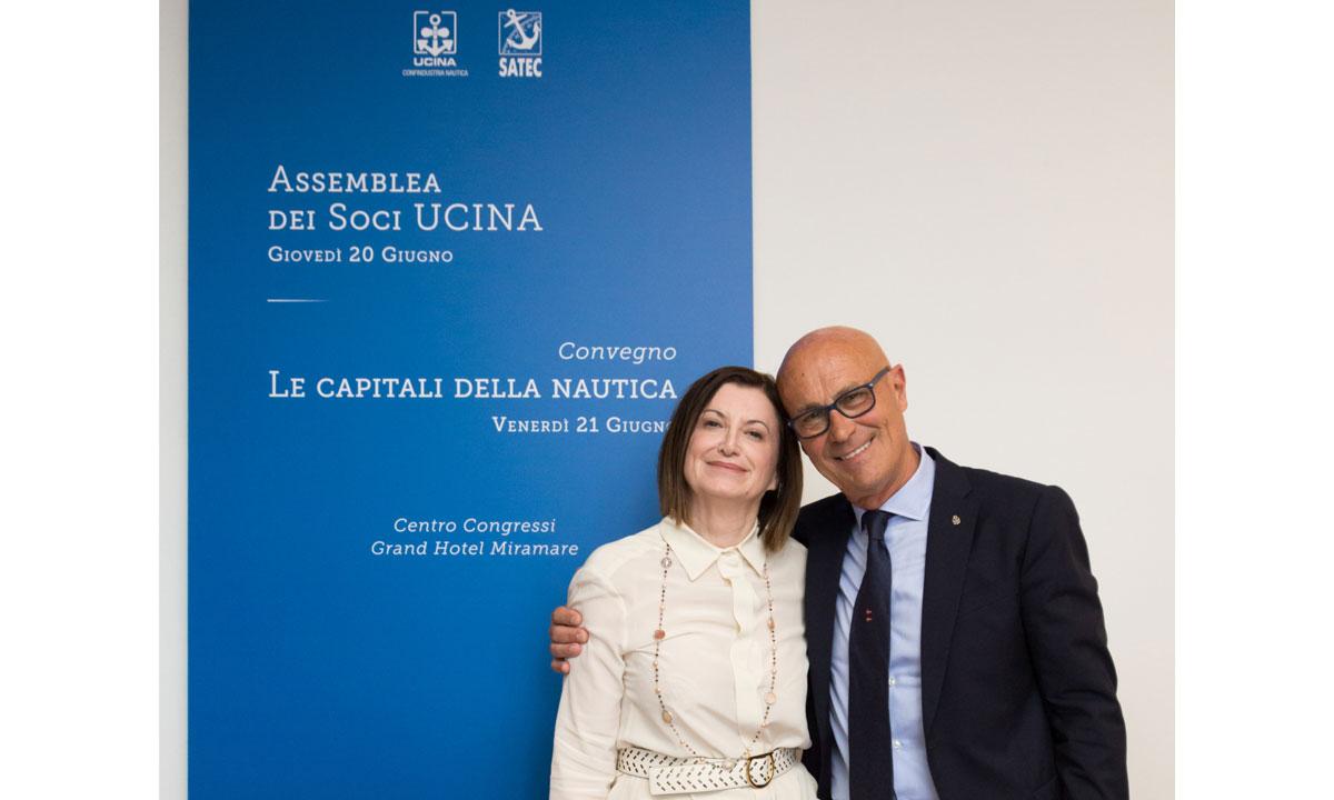 Carla Demaria e Saverio Cecchi
