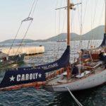 Caroly, yacht a vela del 1948 oggi nave scuola della Marina