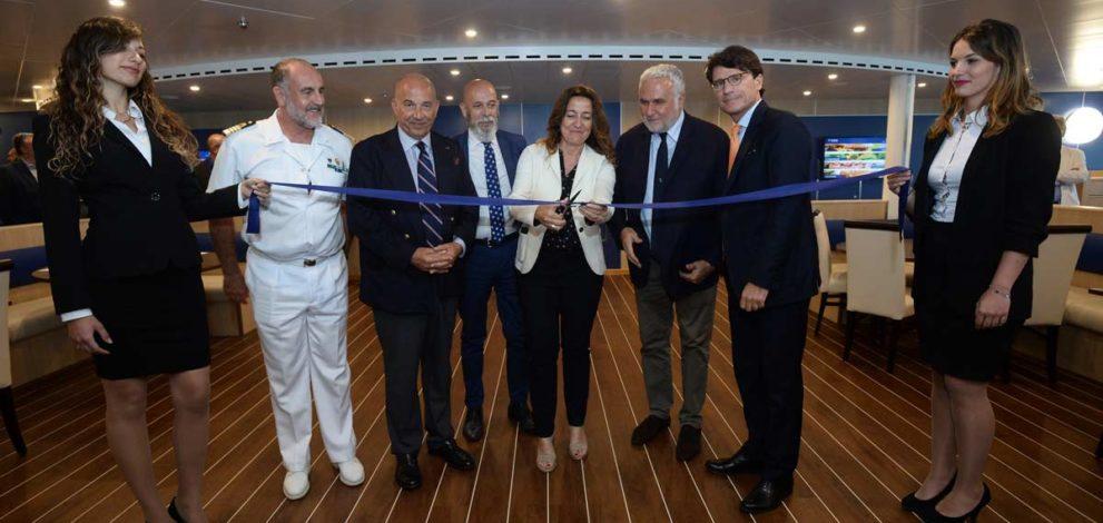 Cruise Roma, la cerimonia a Civitavecchia