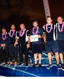 Transpac 2019, Soldini e il suo equipaggio all'arrivo