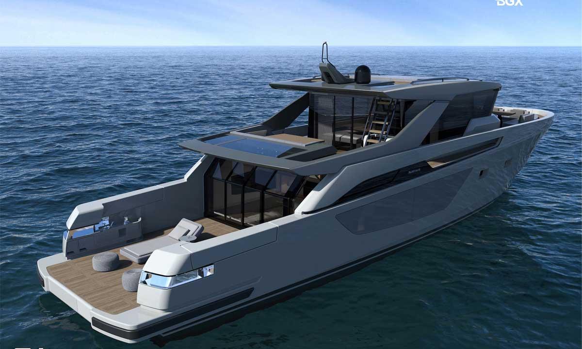 Monaco Yacht Show: Bluegame BGX70