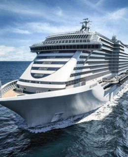 MSC Seashore, come sarà