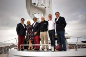 Perini Navi: i vertici della nuova società a bordo del Maltese Falcon