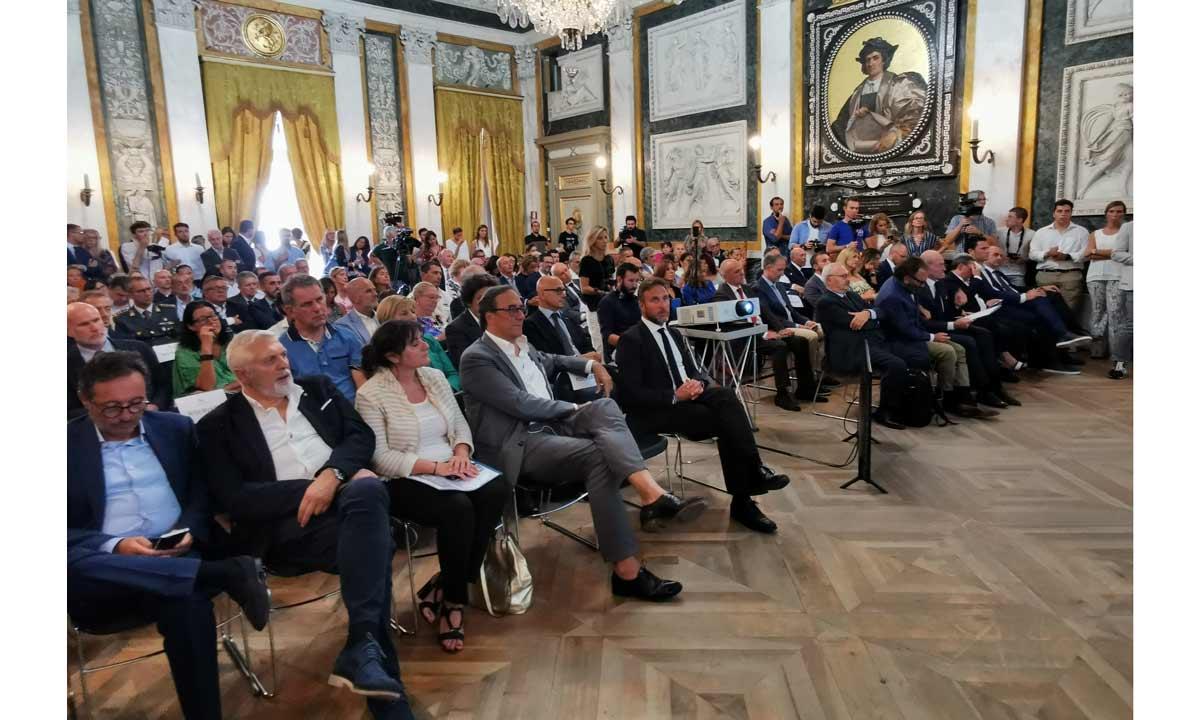 In primo piano Balducci, Formenti e Perotti