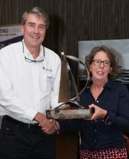 Frigomar: il dealer inglese Rod Boreham ritira il premio