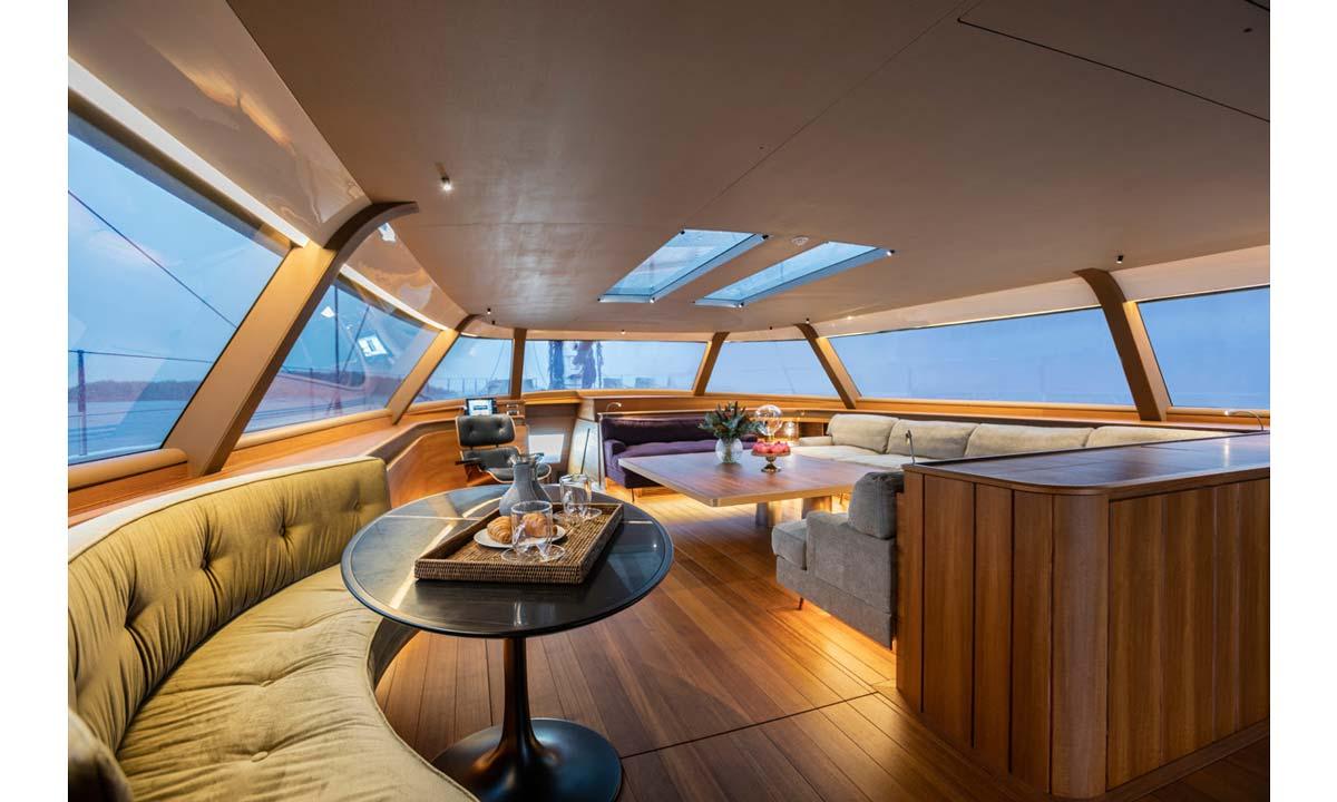 Italian Yacht Design: gli interni del Baltic 142