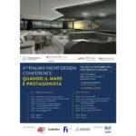 Italian Yacht Design Conference, la locandina