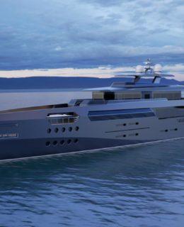 Dynaship Yacht Design: la nave green diesel-elettrica