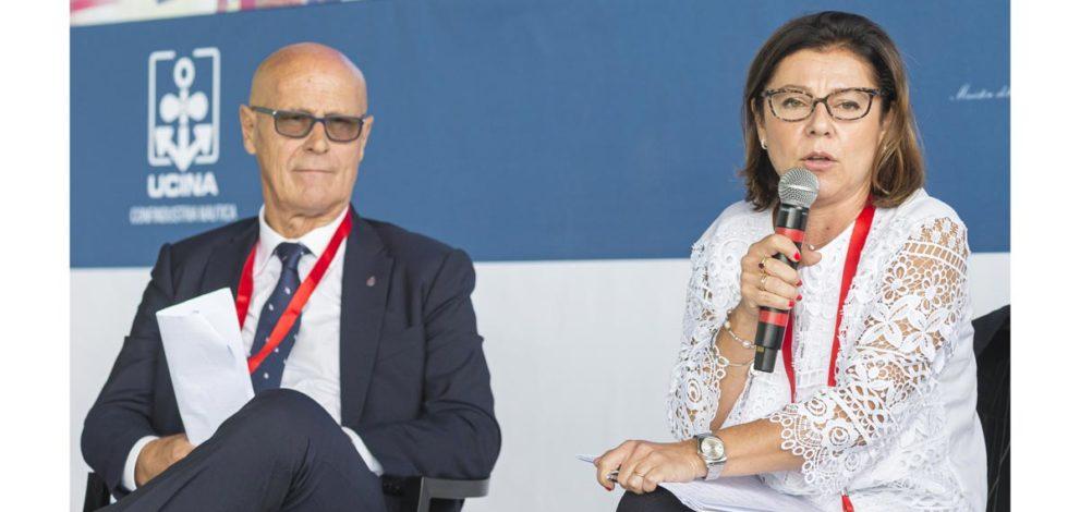 Porti turistici/2: Paola De Micheli e Saverio Cecchi