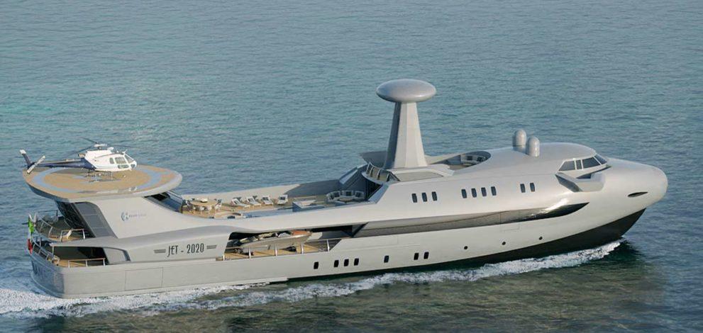 Codecasa Jet 2020, 70 metri